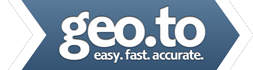 geo.to easy. fast. accurate. locations. by you business logo.